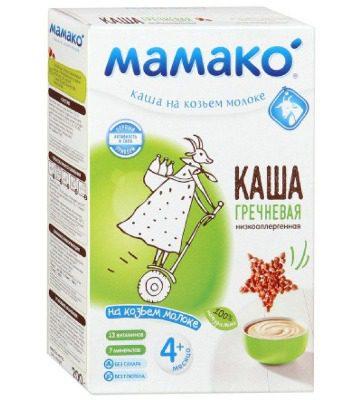 Bột ăn dặm Mamako của Nga