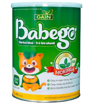 Babego dùng cho trẻ từ 12 - 36 tháng tuổi