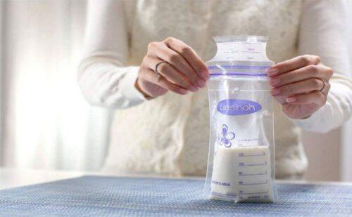 có phải rửa túi trữ sữa