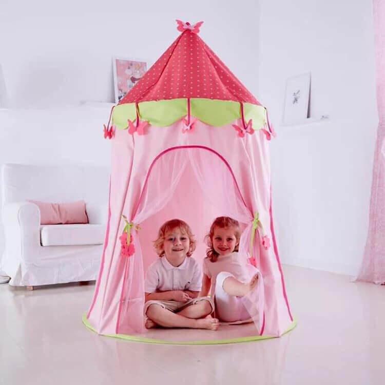 Lều cho bé là không gian riêng, đầy sáng tạo