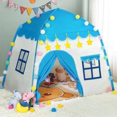 Lều ngủ trong nhà cho bé hình ngôi nhà
