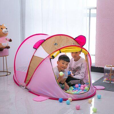 Lều tạo không gian vui chơi tự do cho trẻ