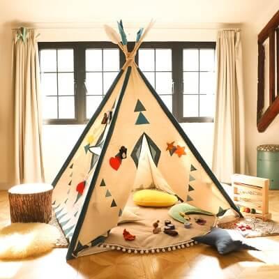 Lều thổ dân thiết kế đơn giản