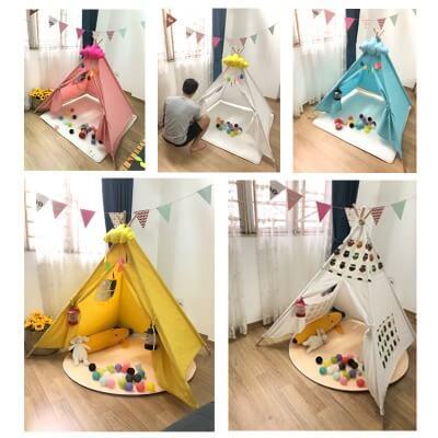 Lều vải handmade thân thiện với trẻ