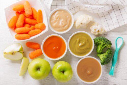 Xây dựng thực đơn phong phú để bé được cung cấp đầy đủ dưỡng chất