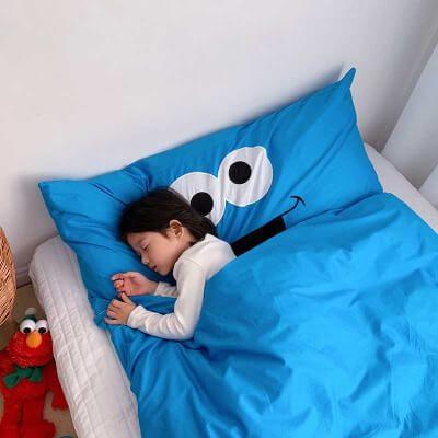 Mẹ không lo bé đạp chăn ra khi ngủ nữa