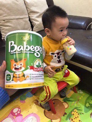 Con mình đang uống loại Babego 12 - 36 tháng