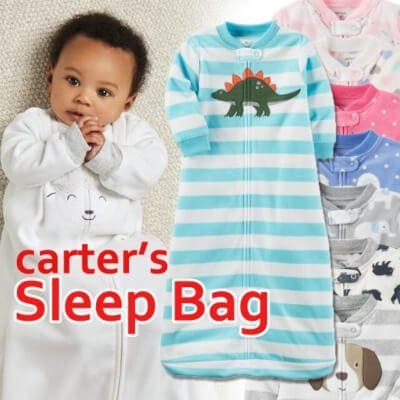 Túi ngủ kéo khóa Carter cho bé luôn ấm áp