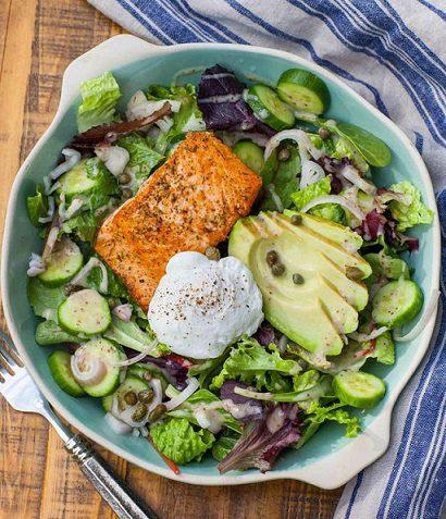 Salad bơ – Món ăn healthy được nhiều chị em yêu thích