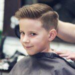 cắt tóc cho bé trai