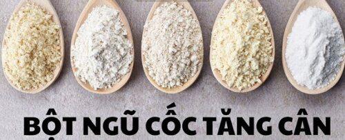 Bạn hãy xay riêng tất cả nguyên liệu để bột mịn đều hơn